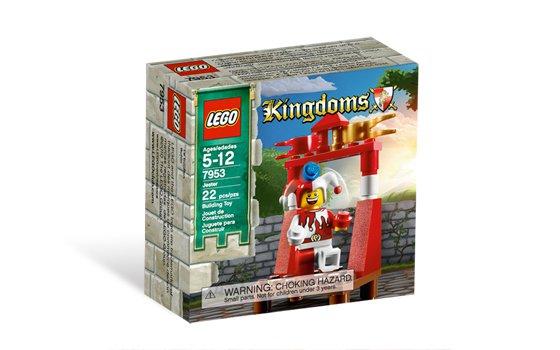 Lego Castle Kingdoms Jester set 7953 (2010) New Factory Sealed Set!