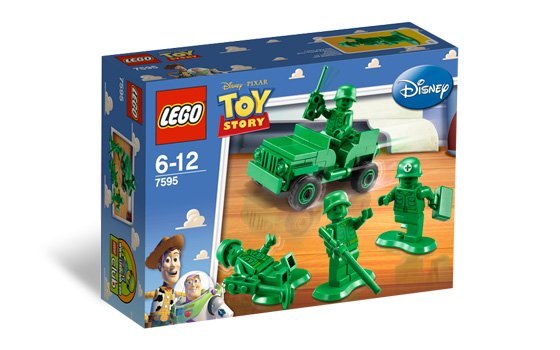 Lego Toy Story Army Men on Patrol 7595 (2010) New Factory Sealed Set!