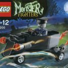 Lego Monster Fighters Zombie Chauffeur Coffin 30200 (2012) New! Sealed Polybag!