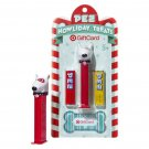 $5 Target Gift Card Bullseye Dog Howliday Treats Pez (2013) New!