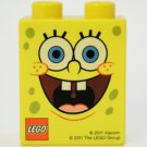 Lego Rare Promotional SpongeBob SquarePants Brick (2011) New Factory Sealed!