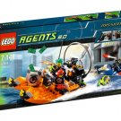 Lego Agents River Heist 8968 (2009) New Factory Sealed Set!