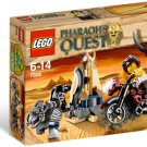 Lego Pharaoh's Quest Golden Staff Guardians 7306 (2011) New Factory Sealed Set!