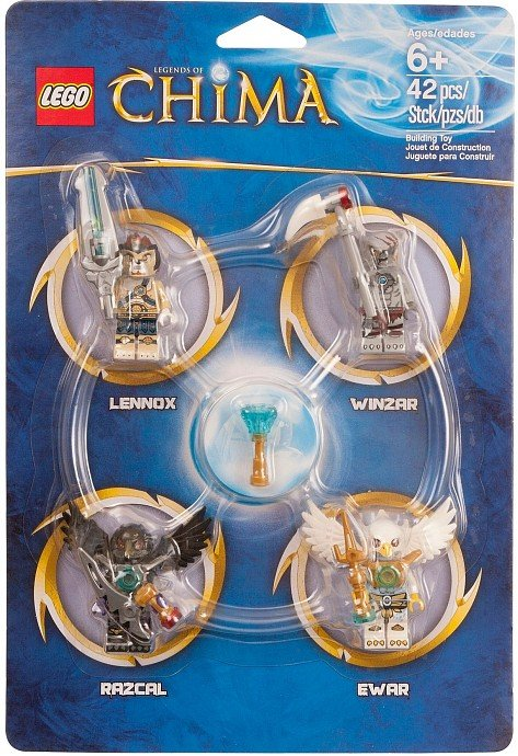 Lego Legends of Chima Minifigure Accessory Set 850779 (2013) New Factory Sealed Set!