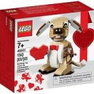 Lego Valentine's Cupid Dog 40201 (2016) Sealed Set!