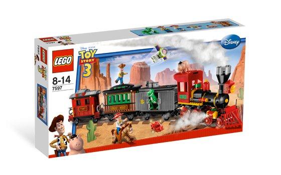 Lego Toy Story Western Train Chase 7597 (2010) New! Sealed Set!