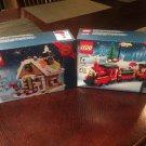 Damaged box Lego Train 40138 & Gingerbread House 40139 (2015) Sealed Sets!