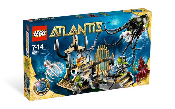 Lego Atlantis Gateway of the Squid 8061 (2010) New! Factory Sealed Set!
