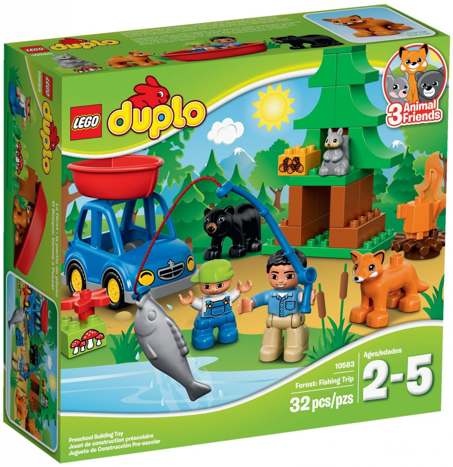 Lego Preschool Duplo Fishing Trip 10583 (2015) New! Factory Sealed!