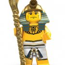 Genuine Lego Minifigure Series 2 Pharaoh 8684 (2010) New! Factory Sealed!