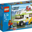 Lego City Camper 7639 (2009) New Factory Sealed Set!