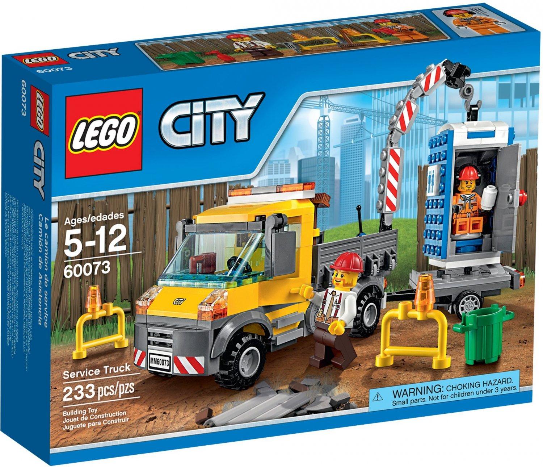 Lego City Service Truck 60073 (2015) New! Sealed Set!
