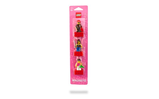 Lego Female Minifigure Magnet Set 852948 (2010) New! Sealed on Blister Pack!