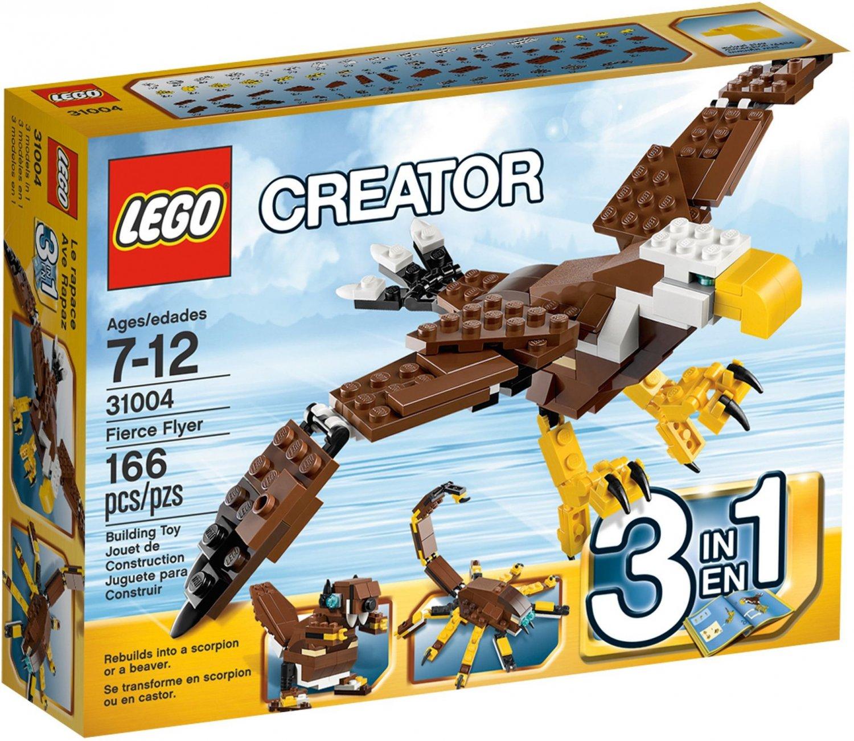 Lego Creator 3 in 1 Fierce Flyer 31004 (2013) Factory Sealed