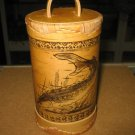 HANDMADE BIRCH BARK ITEMS FROM SIBERIA