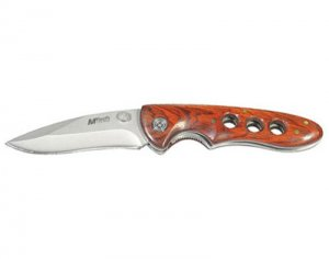 M-Tech USA Designs / Pocket Knife - Wood Handle