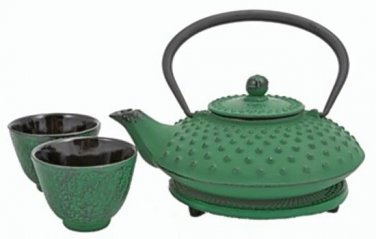 Tetsubin / Cast Iron Tea Set (Green)