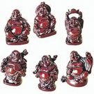Lucky Mini Buddhas / Hong Tze Collection (Set of Six)
