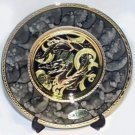 Golden Dragon Gift Plate (24K Gold)