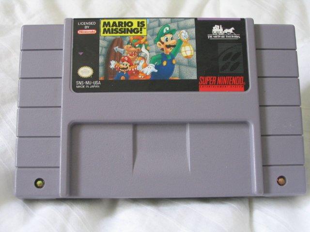 Mario Is Missing - Super Nintendo SNES