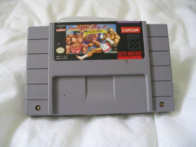 Street Fighter 2 II Turbo - Super Nintendo SNES