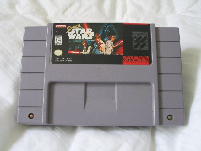 Super Star Wars - Super Nintendo SNES