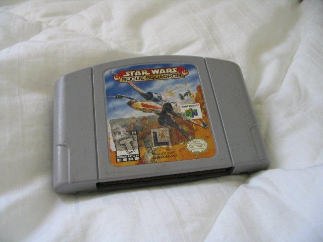 Star Wars Rogue Squadron - N64 Nintendo 64