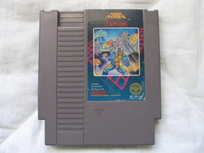 Mega Man 1 - NES Nintendo Megaman Cartridge Game