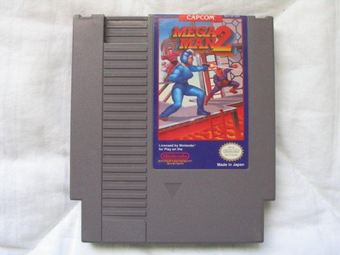 Mega Man 2 - NES Nintendo Cartridge Game