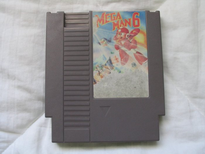Mega Man 6 - NES Nintendo Cartridge Game