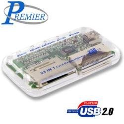 PREMIER 23-IN-1 CARD READER/WRITER