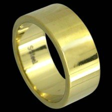 Beautiful Band Design Gold Plated (RSSSPG)
