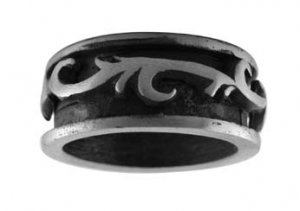Two-Toned Pewter Ring (PRS-2811)