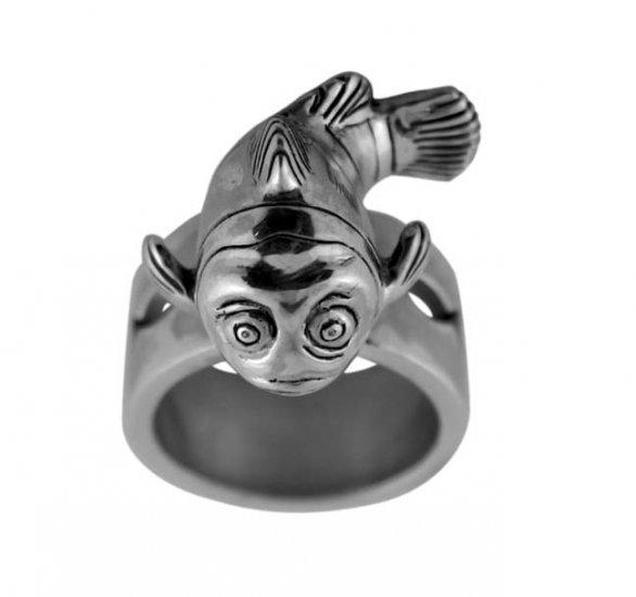 Fish Pewter Ring (PRN-58)