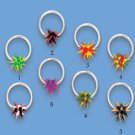 Captive Ring with Koosh Ball (UCSS)