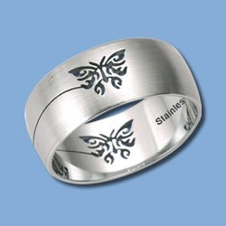 Stainless Steel with Butterfly Cut-Out (RSSO-260)
