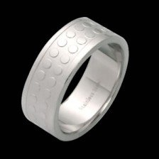 Stainless Steel Band W/ Engraved Design (RSLW-13)
