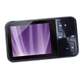 "SHIPPING MP4 Player 2.0"" LCD TRUE 4GB Black ""Glacier"" (using Nokia Battery"