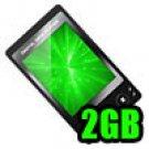 "MP4 Player Video Photo Wide Screen 2"" TFT LCD w/ Speaker 2GB ""Blanco"" - Black"