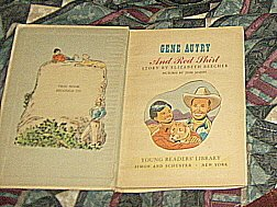 1951 ANTIQUE Gene Autry and Red Shirt A SANDPIPER BOOK