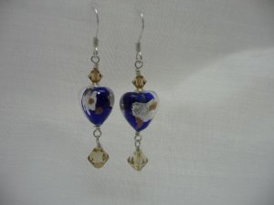 Victoria Cobalt Hearts