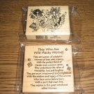 PSX Wild Wacky Women Wood Mounted Rubber Stamps Lot Of 2 By Suzy Toronto Retired Collectible
