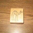 PSX Camel Wood Mounted Rubber Stamp E-991 Retired Collectible
