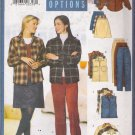 Misses' Shirt Vest Skirt Pants Sewing Pattern Size 6-10 Butterick 5755 UNCUT