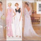 Misses' Evening Floor Length Dress Bridal Collection Sewing Pattern Size 6-10 Butterick 5303 UNCUT