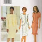 Misses' Fitted Jacket & Dress Sewing Pattern Size 18-22 Butterick 3381 UNCUT
