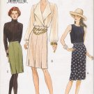 Misses' Semi-Fitted Straight Skirt Sewing Pattern Size 8-12 Vogue 8949 UNCUT