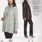 Misses' Maternity Shirt & Pants Sewing Pattern Size 14-18 Vogue 2866 UNCUT