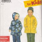 Child's Jacket & Pants Sewing Pattern Size 2-6x Simplicity 8296 UNCUT