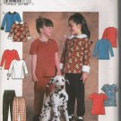 Child's Top & Pants Sewing Pattern Size 5-8 Simplicity 7824 UNCUT